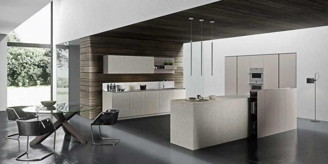 cucina in gres porcellanato - Gres Porcellanato Cucina Moderna
